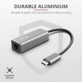 Adaptor Trust Dalyx USB-C to Ethernet Adapter - imaginea 6
