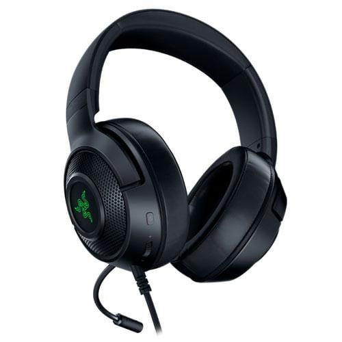 Casti cu microfon Razer Kraken X USB 7.1 Surround Sound, negru - imaginea 1