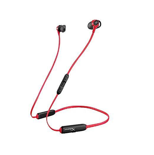 Casti gaming wireless HyperX Cloud Buds, Bluetooth, negru/rosu - imaginea 1