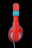 Casti cu microfon Trust Sonin Kids Headphones - red - imaginea 6