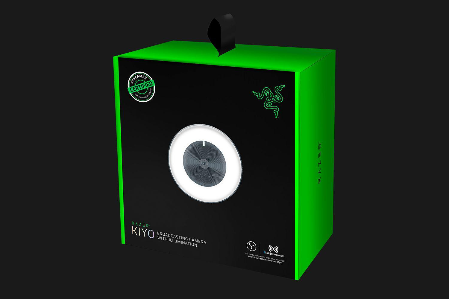 Webcam Razer Kiyo HD 720p, Image resolution: 4 Megapixels, Still Image Resolution: 2688x1520, 720p up to 60fps, microfon, USB, Cable Length: 1.5 meters braided cable, Compatible with Open Broadcaster Software and Xspli - imaginea 6