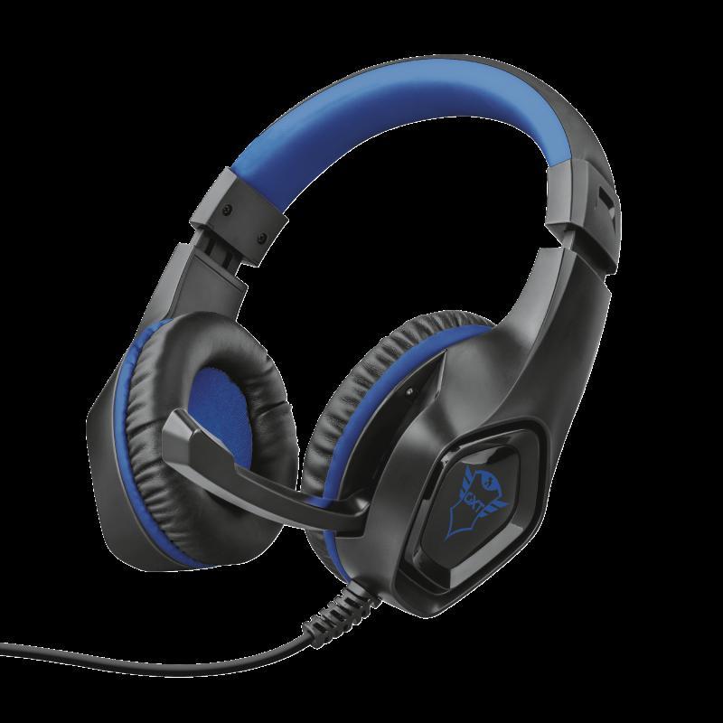 Casti cu microfon Trust GXT 404B Rana Gaming PS4, negru - imaginea 2