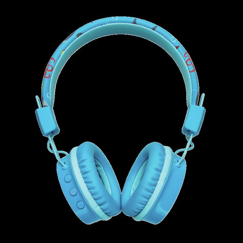 Casti cu microfon Trust Comi Kids, Bluetooth Wireless, blue - imaginea 2