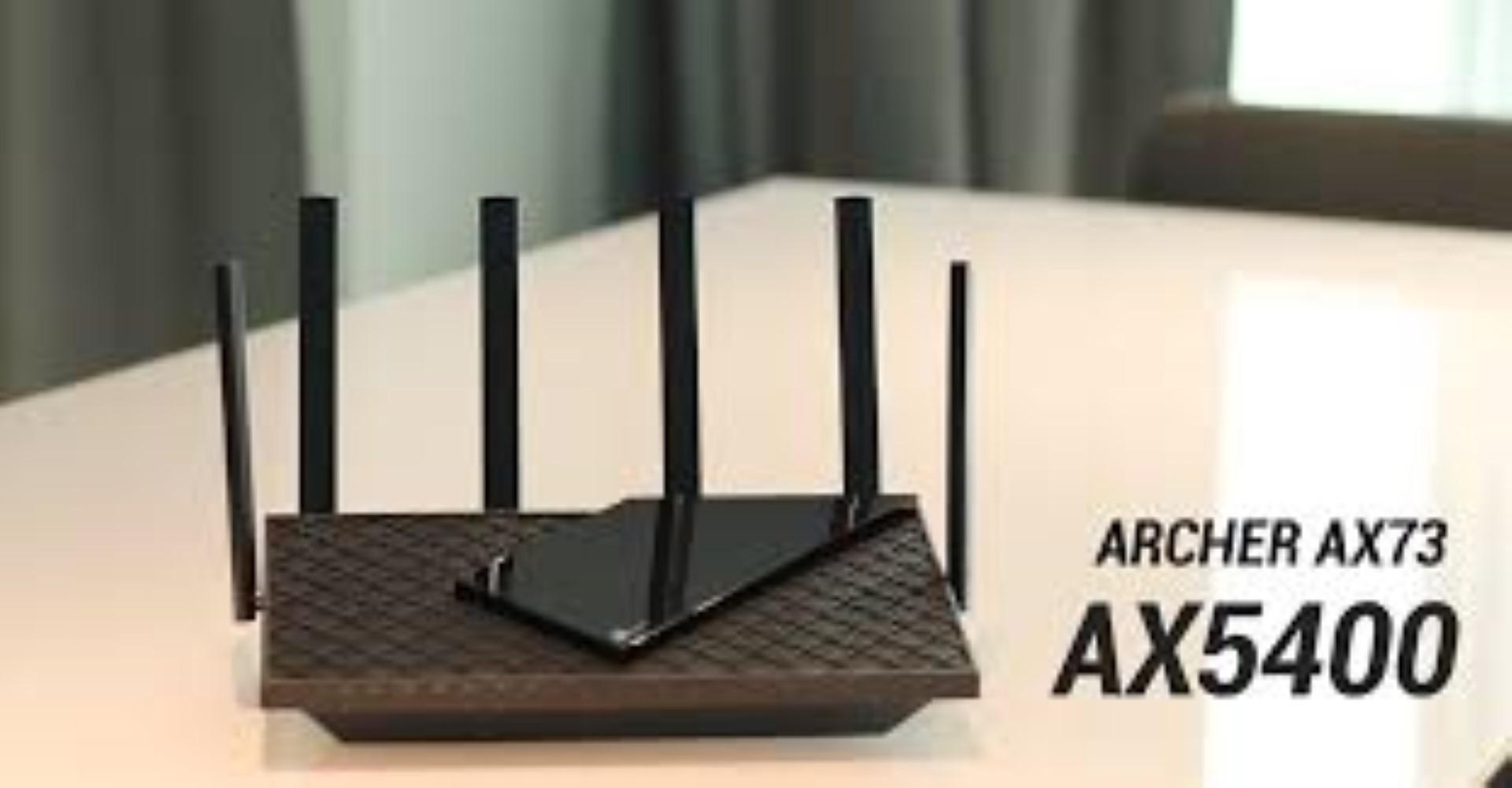 TP-LINK AX5400 Dual-Band Gigabit WI-FI6 Router, Standards: IEEE 802.11ax/ac/n/a 5 GHz, IEEE 802.11ax/n/b/g 2.4 GHz, 5 GHz: 4804 Mbps (802.11ax), 2.4 GHz: 574 Mbps (802.11ax), 6× Fixed High-Performance Antennas, 4×4 MU-MIMO, 1.5 GHz Triple-Core CPU, 1× Gigabit WAN Port, 4× Gigabit LAN Ports. - imaginea 2