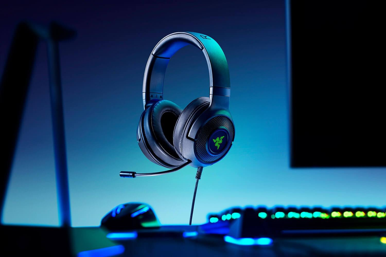 Casti cu microfon Razer Kraken X USB 7.1 Surround Sound, negru - imaginea 3