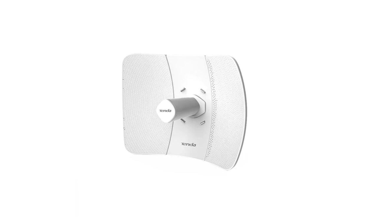 TENDA O9 5GHz 867Mbps outdoor CPE, 11AC, Pole Mount, wireless standards: IEEE 802.11a/n/ac, Wireless Rate: 867Mbps, Interface: 1*10/100/1000Mbps Ethernet Port, antenna: 23dBi, Waterproof Level: IP65, Power Consumption: 7.5w. - imaginea 1