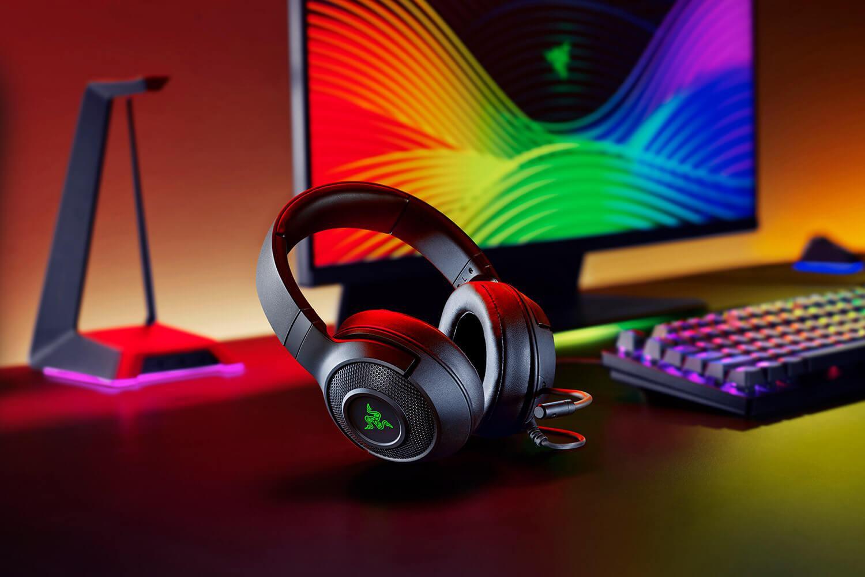 Casti cu microfon Razer Kraken X USB 7.1 Surround Sound, negru - imaginea 2