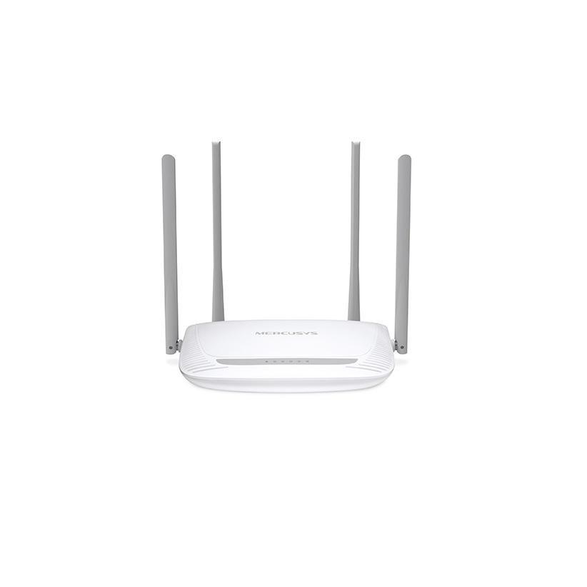 Router Wireless Mercusys N 300 Mbps, MW325R; Standarde Wireless: IEEE 802.11n, IEEE 802.11g, IEEE 802.11b; Frecvență: 2.4 - 2.5GHz; 3x Porturi LAN 10/100Mbps, 1x Port WAN 10/100Mbps; 4x 5dBi Antene Omnidirecţionale Nedetașabile; Putere de Transmisie: <20dBm; Alimentare externă: 5VDC/0.6A; - imaginea 1