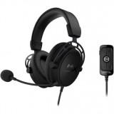 Casti cu microfon Kingston HyperX Cloud Alpha S, negru - imaginea 1