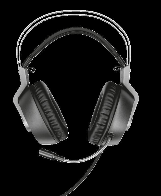 Casti cu microfon Trust GXT 430 Ironn Gaming, negru - imaginea 4