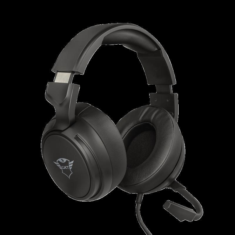 Casti cu microfon Trust GXT 433 Pylo Multiplatform Gaming, negru - imaginea 1