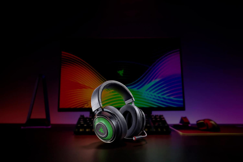 Casti cu microfon Razer Kraken Ultimate, 7.1 Surround Sound, negru - imaginea 2