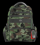 """Rucsac Trust GXT 1250G Hunter Gaming Backpack for 17.3"""" laptops - green camo - imaginea 10"""