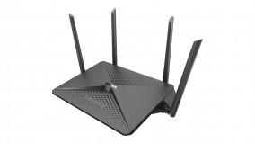 DLINK EXO AC2600 MU-MIMO Wi-Fi Router, DIR-882, EEE 802.11 ac/n/g/b/a wireless LAN, 1* USB 2.0 port, 1*  Super Speed USB 3.0 port, 4* 10/100/1000 Gigabit Ethernet LAN ports, 10/100/1000 Gigabit Ethernet WAN port, Four external antennas, 2.4 GHz: Up to 800 Mbps/ 5 GHz: Up to 1,733 Mbps, compatibil
