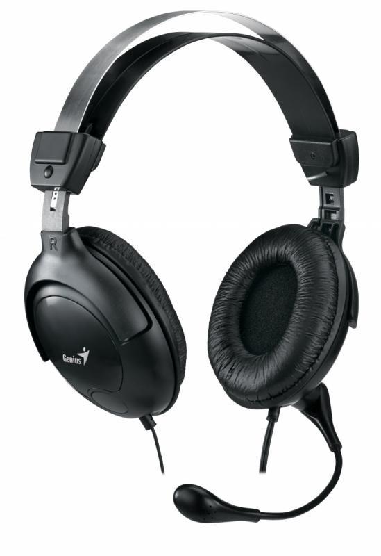 Casti cu microfon Genius HS-M505X, negru - imaginea 1