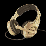 Casti cu microfon Trust GXT 310D Radius Gaming Headset, desert camo - imaginea 2