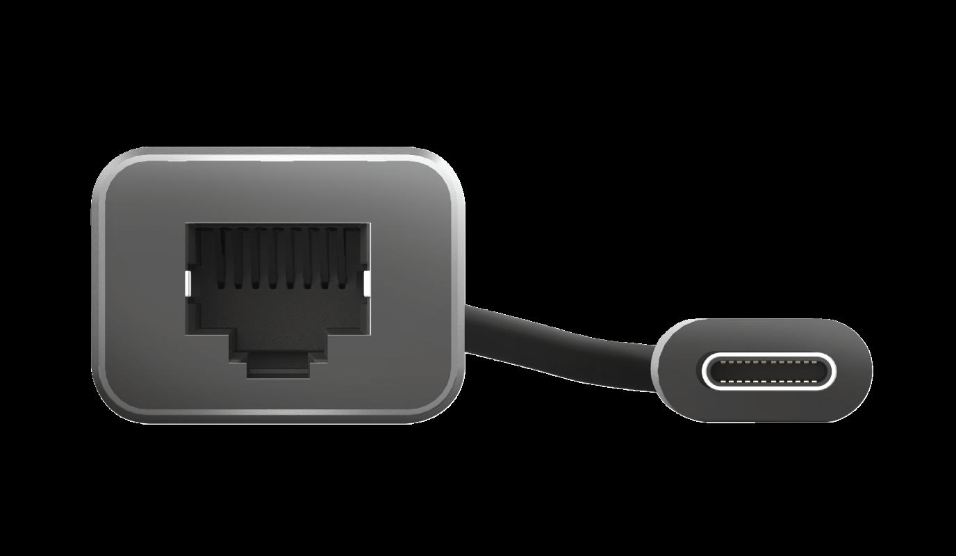 Adaptor Trust Dalyx USB-C to Ethernet Adapter - imaginea 3