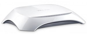 Router Wireless TP-Link TL-WR840N, 1WAN 10/100, 4xLAN 10/100, 2 antene externe, N300, SPI Firewall, WDS Wireless bridge, QoS, buton Wireless ON/OFF, Broadcom, MIMO 2T2R - imaginea 1