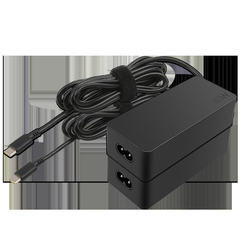 Lenovo 65W Standard AC Adapter (USB Type-C); Output: 20V/3.25A; 15V/3A; 9V/2A; 5V/2A, 222g - imaginea 2