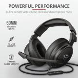 Casti cu microfon Trust GXT 433 Pylo Multiplatform Gaming, negru - imaginea 7