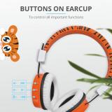 Casti cu microfon Trust Comi Bluetooth Wireless Kids Headphones Orange - imaginea 7