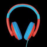 Casti cu microfon Trust Sonin Kids Headphones - red - imaginea 2