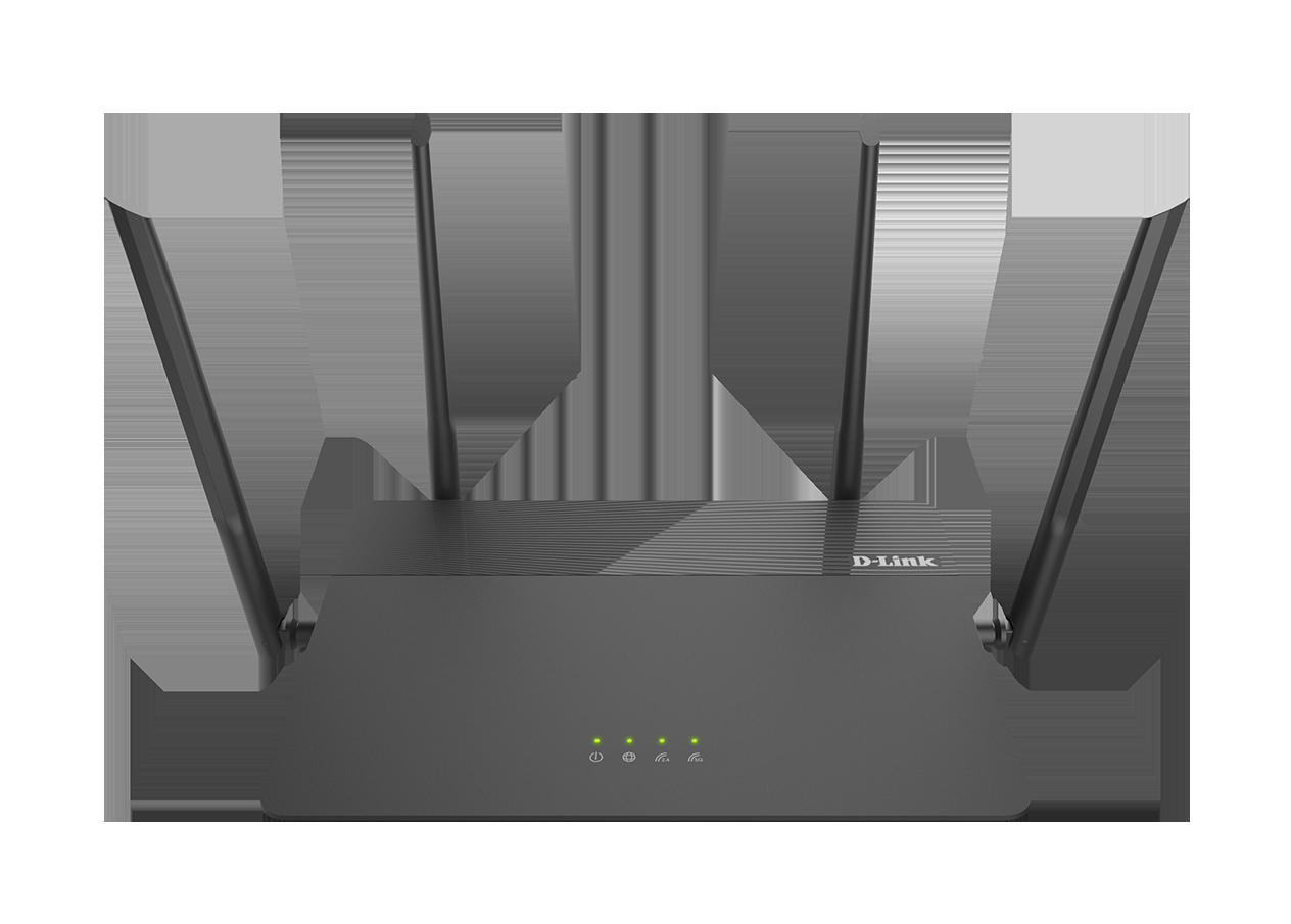 DLINK EXO AC1900 MU-MIMO WI-FI ROUTER, DIR-878, IEEE 802.11 ac/n/g/b/a wireless LAN, 10/100/1000 Gigabit Ethernet WAN port, Four 10/100/1000 Gigabit Ethernet LAN ports, 2.4 GHz: Up to 600 Mbps, 5 GHz: Up to 1,300 Mbps, Four external antennas , Input: 100 to 240 V AC, 50/60 Hz, Output: 12 V, 1.5 A - imaginea 2