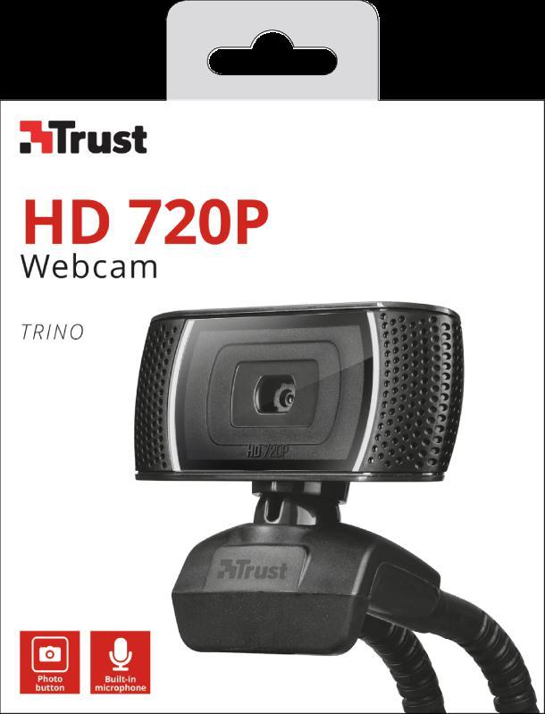 Camera WEB Trust Trino HD Video Webcam - imaginea 8