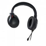 Casti cu microfon X by Serioux, Gaming, CRONAN, difuzor: 40mm, impedanță 32 Ω, sensibilitate 118DB / 1KHZ, interval de frecvență 20 Hz-20 kHz, THD <= 1, putere nominală 15mW ,putere maxima 30mW,dimensiunea microfonului 6,0 × 2,7 mm, sensibilitate -42 ± 3dB,directivitate omni- direcțională, impedanță - imaginea 4