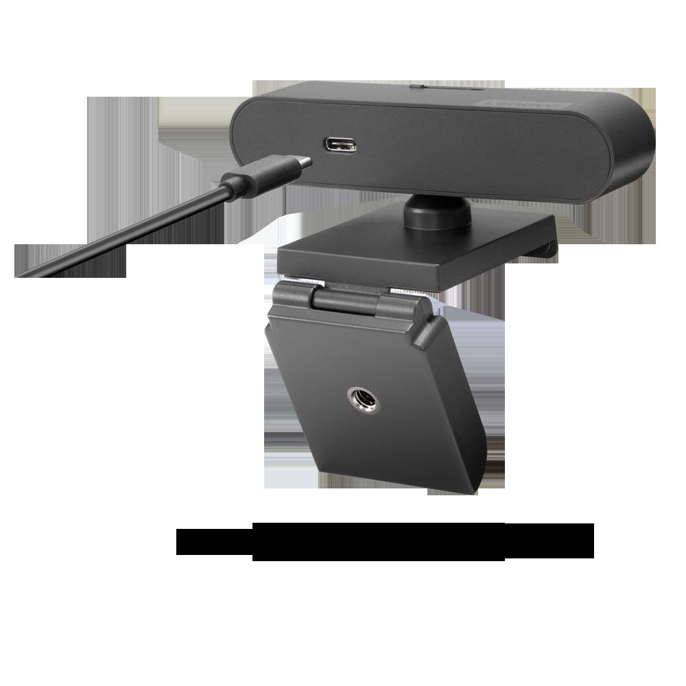 Camera Web Lenovo 500 FHD, Wired, Power Input 5 V, 900 mA, 107 x 63 x 50.4mm, 123 g w/o USB Cable, Black - imaginea 7