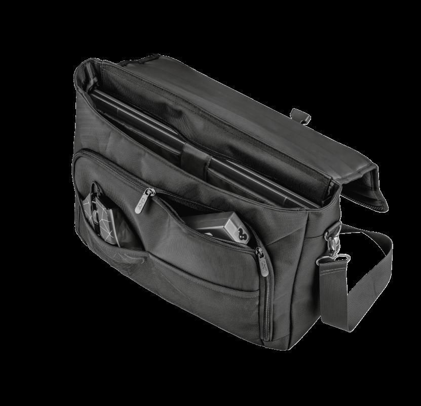 "Geanta GXT1270 Bullet Messenger Bag 15.6"" Black - imaginea 9"