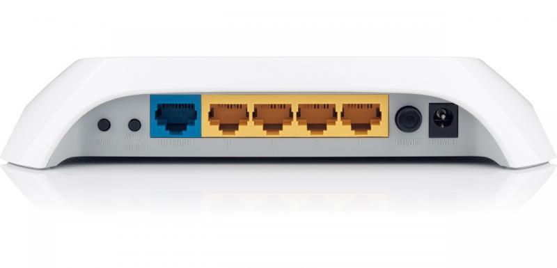 Router Wireless TP-Link TL-WR840N, 1WAN 10/100, 4xLAN 10/100, 2 antene externe, N300, SPI Firewall, WDS Wireless bridge, QoS, buton Wireless ON/OFF, Broadcom, MIMO 2T2R - imaginea 2