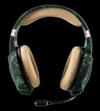 Casti cu microfon Trust GXT 322C Carus Gaming Headset, jungle camo - imaginea 3