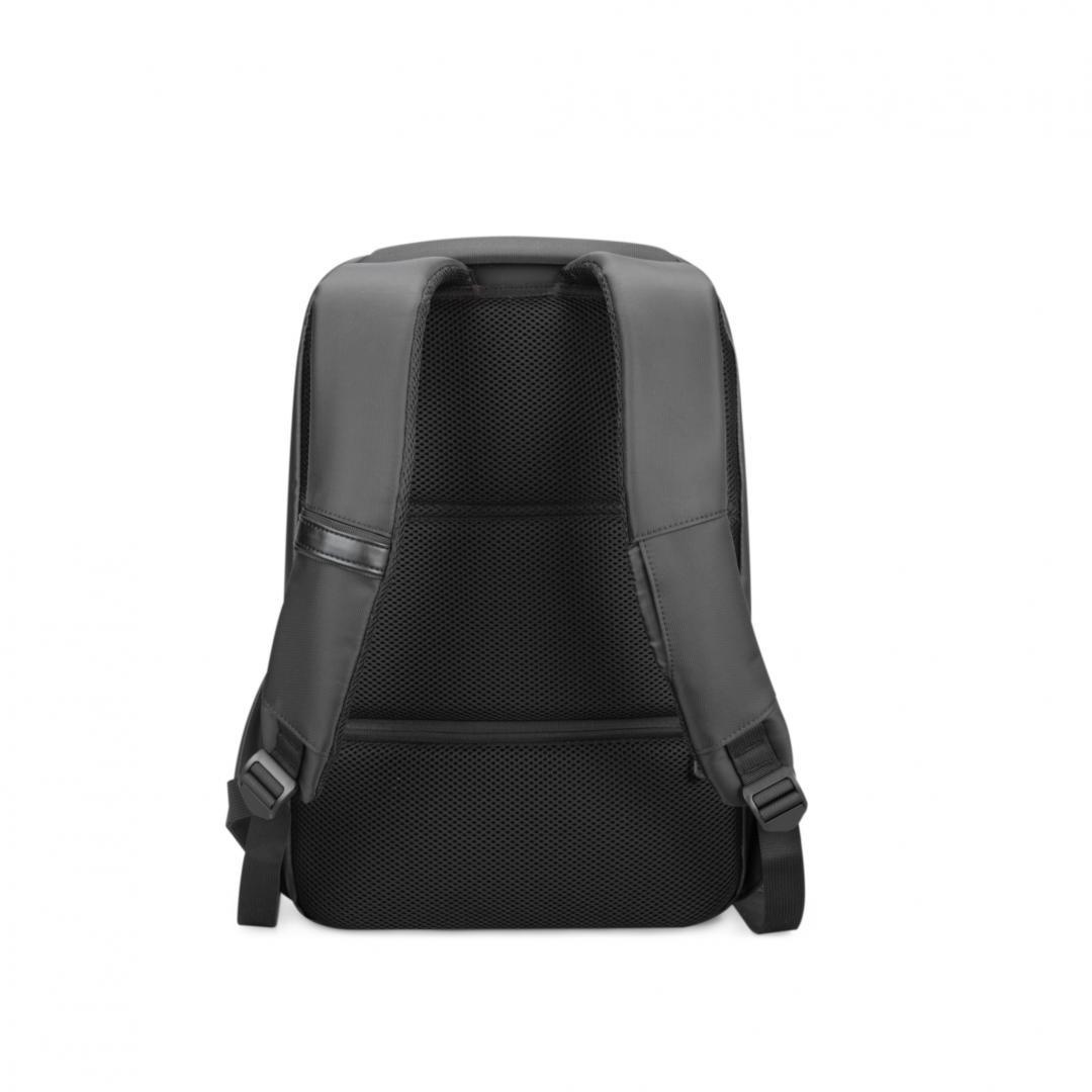 """Rucsac notebook Serioux, SMART TRAVEL ST9590, dimensiuni 31 x 16 x 46 cm, rezistent la apa, compartimente multiple, compartiment separat pentru notebook: max. 15.6"""", bretele ajustabile, port de încărcare USB, buzunar ascuns la spate, material poliester - imaginea 2"""