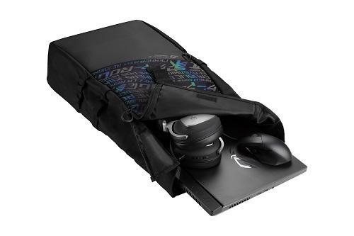 Rucsac Notebook Asus BP4701 ROG, 17, negru - imaginea 2