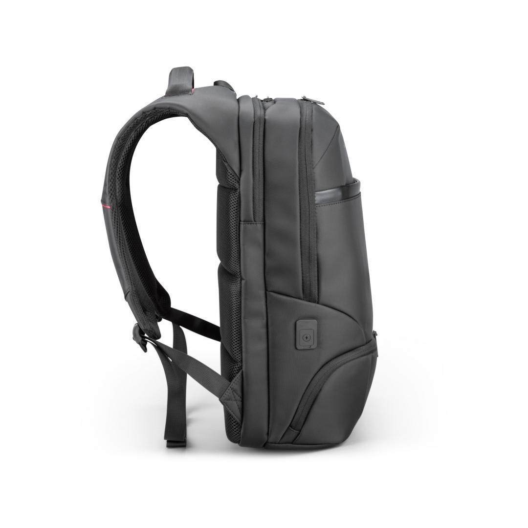 """Rucsac notebook Serioux, SMART TRAVEL ST9588, dimensiuni: 32 x 19 x 46 cm, rezistent la apa, compartimente multiple, compartiment separat pentru notebook: max. 15.6"""", bretele ajustabile, port de încărcare USB, buzunar ascuns la spate, material poliester - imaginea 2"""