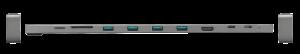 Adaptor Trust Dalyx Aluminium 10-in-1 USB-C Multi-port Dock - imaginea 5