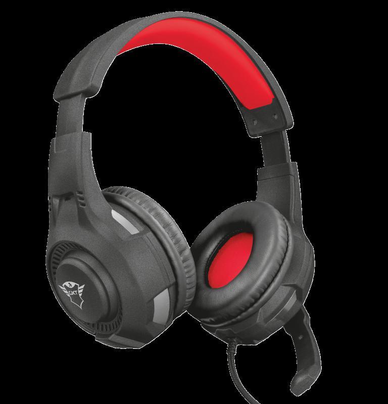 Casti cu microfon Trust GXT 307 Ravu Gaming Headset, negru - imaginea 1