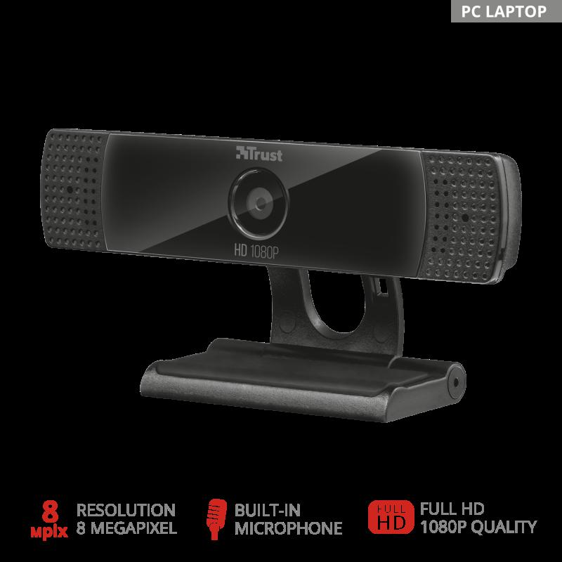 Camera WEB Trust GXT 1160 Vero Streaming Webcam - imaginea 4