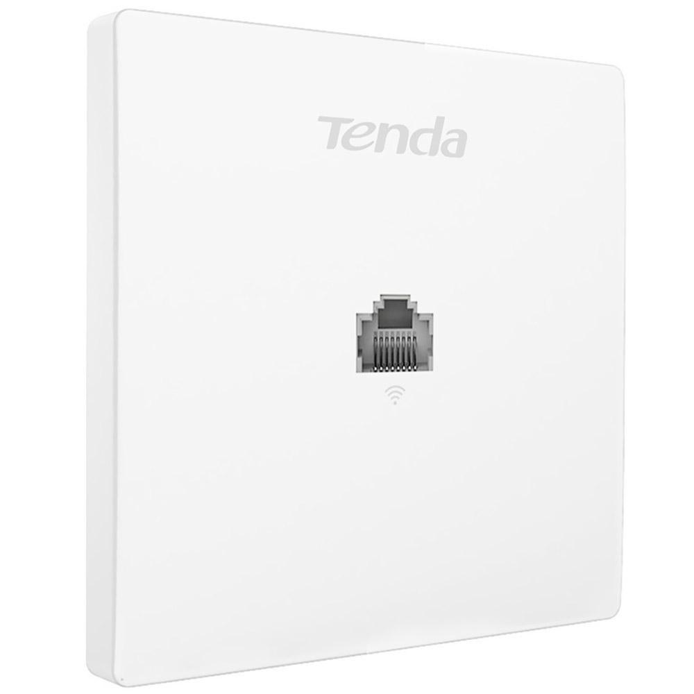 TENDA W12 WIRELESS AC1200 access point Dual band Gigabit PoE Power Supply wifi access point, 2*10/100/1000 BaseTX port, 2.4GHz & 5GHz dual band, IEEE802.11 a/b/g/n/ac. - imaginea 1