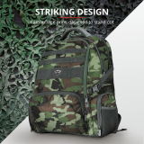 """Rucsac Trust GXT 1250G Hunter Gaming Backpack for 17.3"""" laptops - green camo - imaginea 9"""