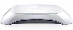 Router Wireless TP-Link TL-WR840N, 1WAN 10/100, 4xLAN 10/100, 2 antene externe, N300, SPI Firewall, WDS Wireless bridge, QoS, buton Wireless ON/OFF, Broadcom, MIMO 2T2R - imaginea 3