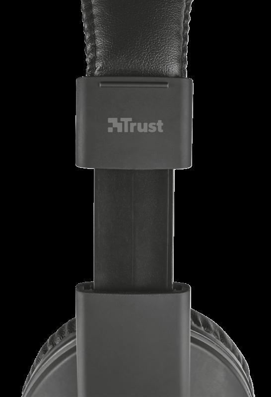Casti cu microfon Trust Reno, negru - imaginea 3