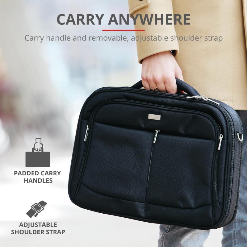 "Geanta Trust Sydney Carry Bag for 16"" laptops - black - imaginea 3"
