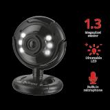 Camera WEB Trust SpotLight Pro Webcam LED Lights - imaginea 2
