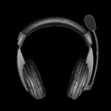 Casti cu microfon Trust Quasar, negru - imaginea 2