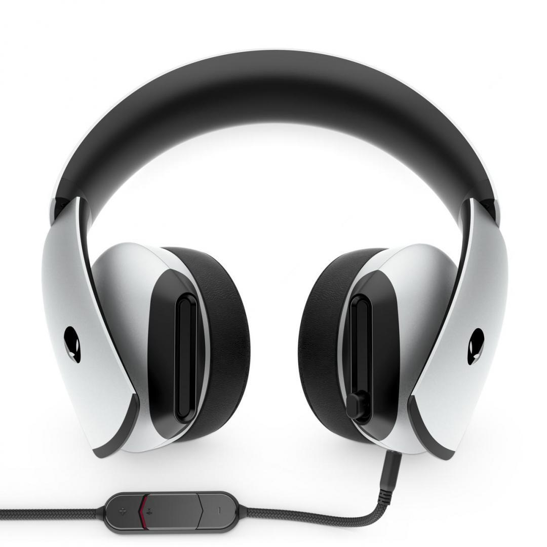 Casti Dell Headset Alienware Gaming AW510H, lunar light - imaginea 1