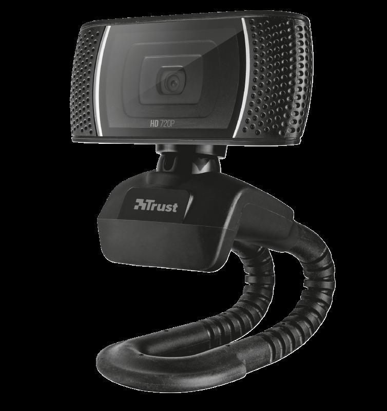 Camera WEB Trust Trino HD Video Webcam - imaginea 3