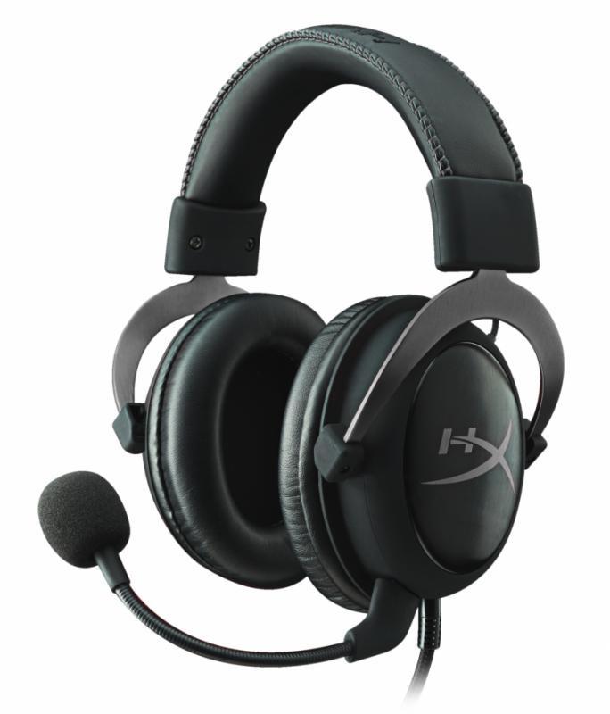 Casti cu microfon Kingston HyperX Cloud II Gaming, gun metal - imaginea 1
