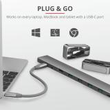 Adaptor Trust Dalyx Aluminium 10-in-1 USB-C Multi-port Dock - imaginea 10